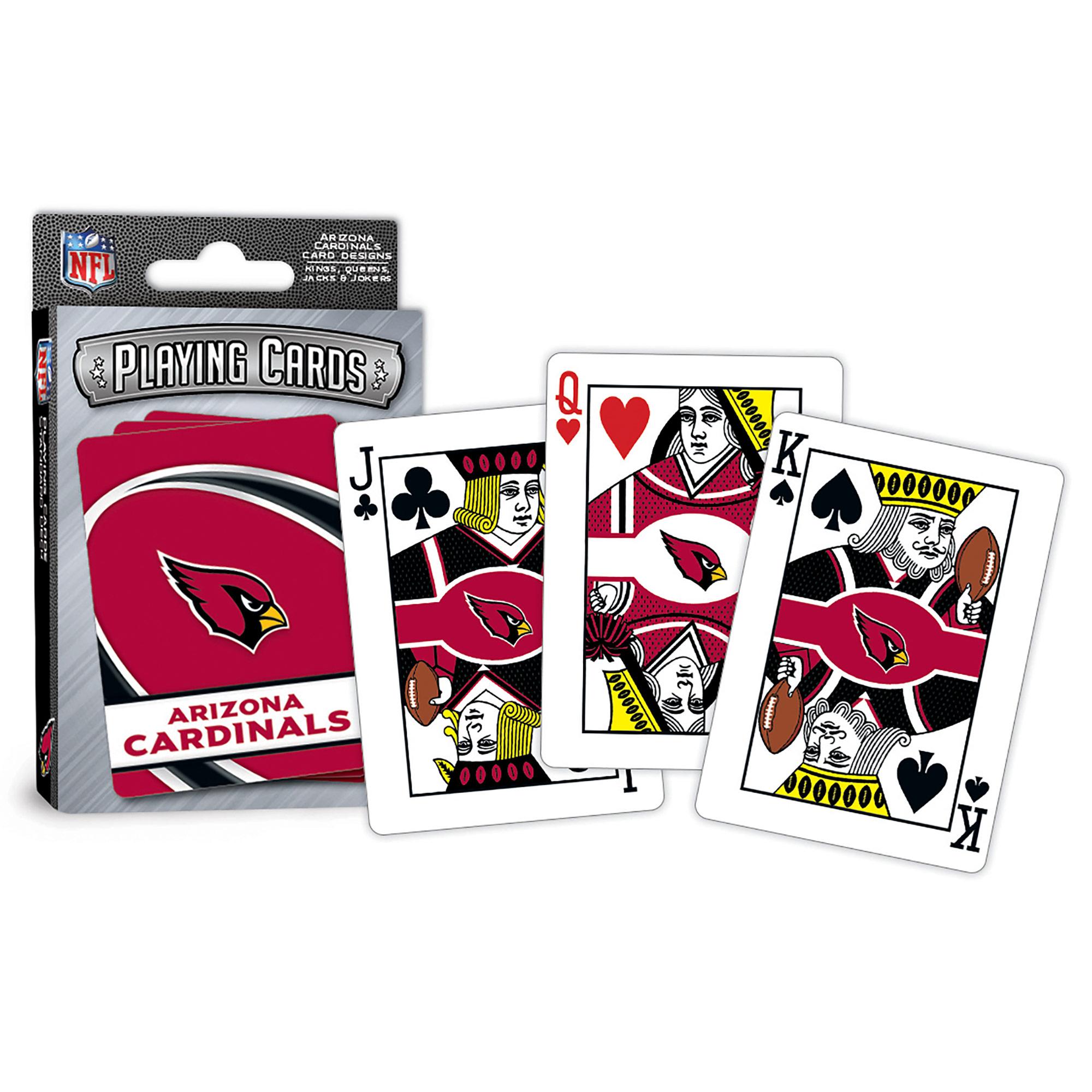 Arizona Cardinals Playing Cards