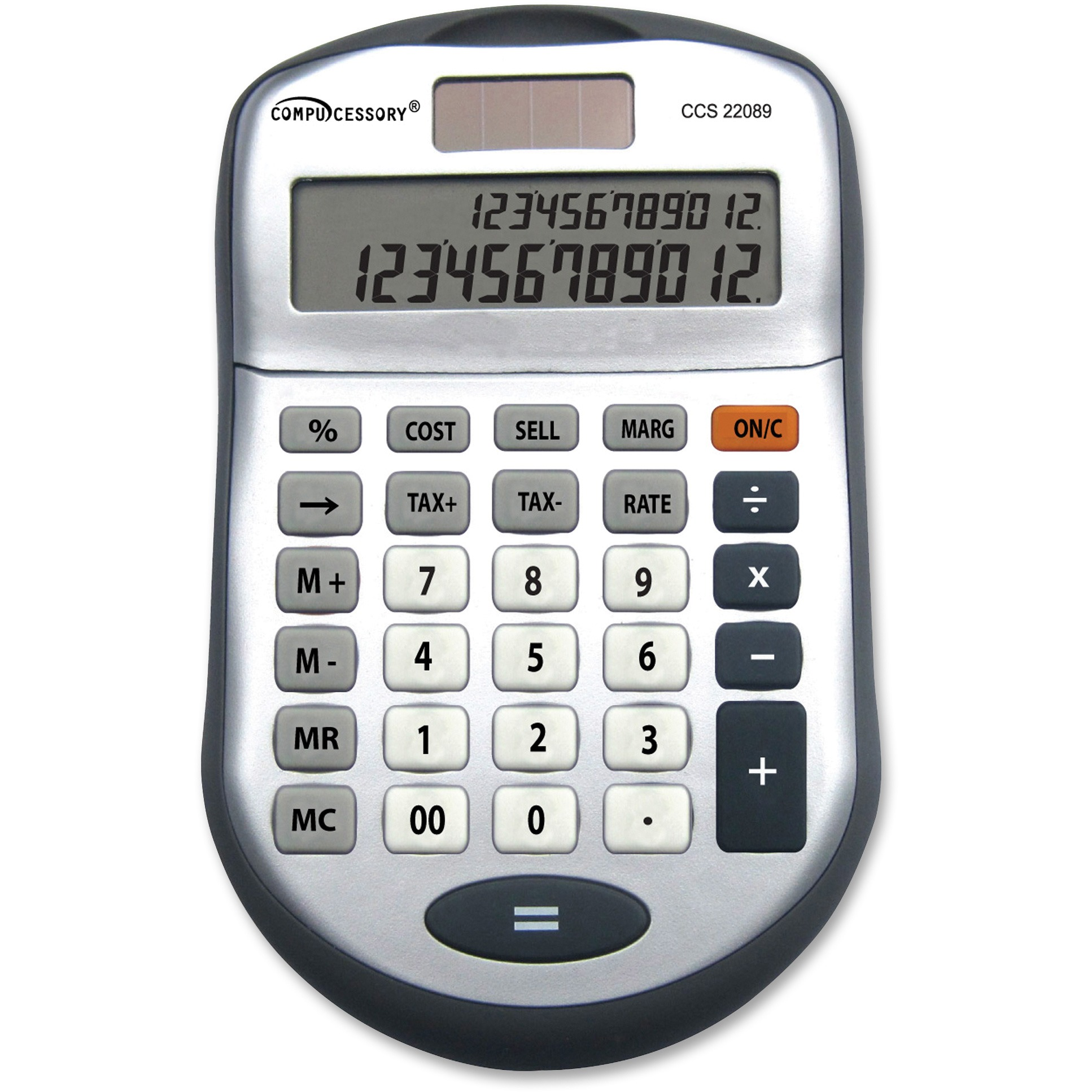 Compucessory Simple Calculator w/ Two Lines
