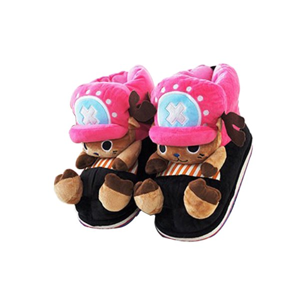 Captis Women S Slippers Men S Slippers House Slippers Warm Plush Shoe Elk Cartoon Wax2 Walmart Com Walmart Com