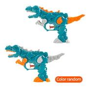 2pcs Dinosaur Water Blaster Soaker Gun Squirt Gun for Kids Summer Beach Swimming Pool Blaster Gun