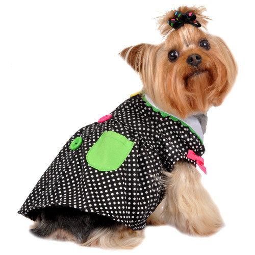 Max's Closet Polka Pocket Dress