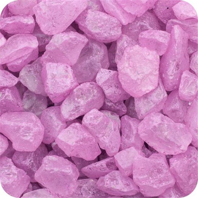 Colored ICE Real Glass Gems, Scatters 1.5 Pint (2 lb) 4 - 10 mm - Purple