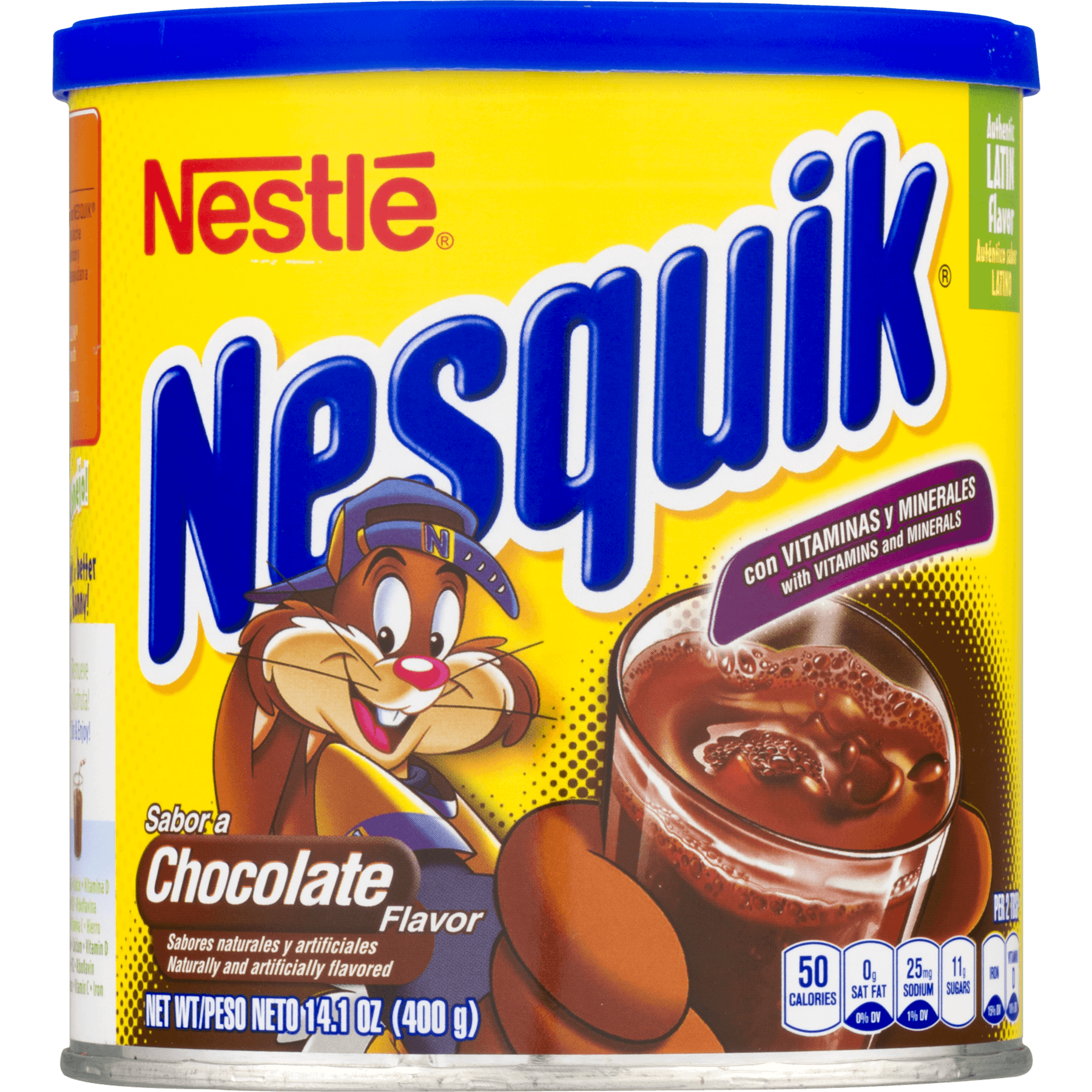 NESTLE NESQUIK Chocolate Flavor 14.1 oz. Canister