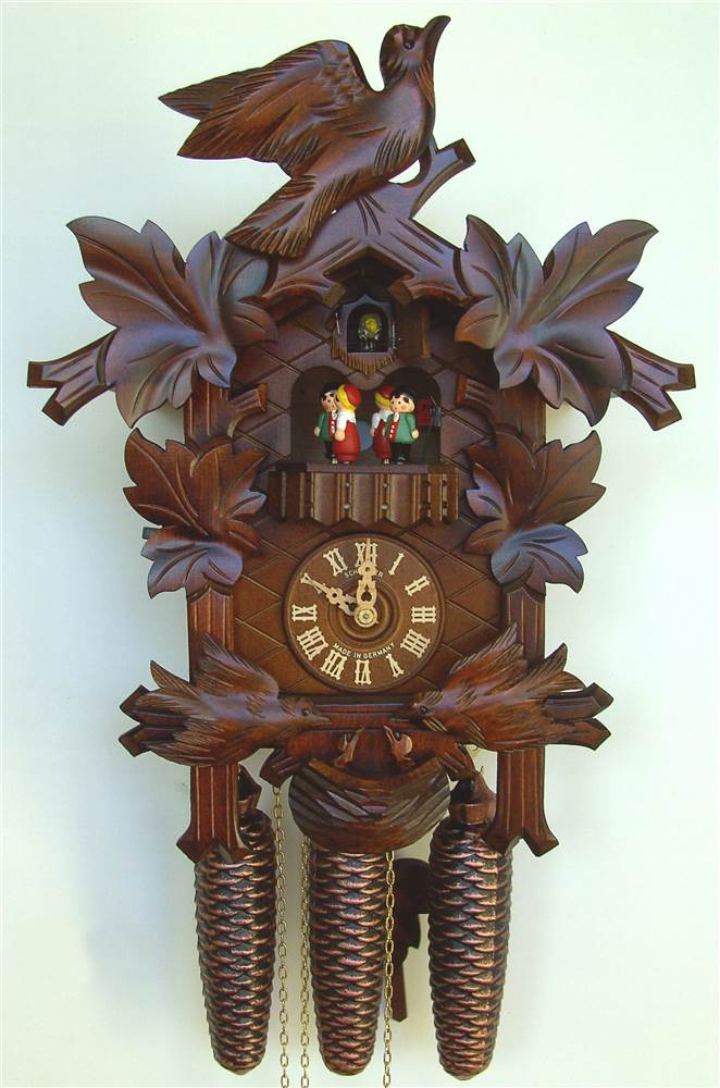 8-Day Musical Black Forest House Cuckoo Clock by Schneider Cuckoo Clocks