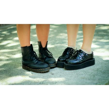 Felt Footwear (LAMINATED POSTER Boots Footwear Fashion Shoes Feet Poster Print 24 x)