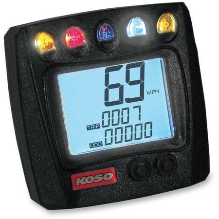 Koso North America BB026001 XR-SA Multi-Function Electronic Speedometer