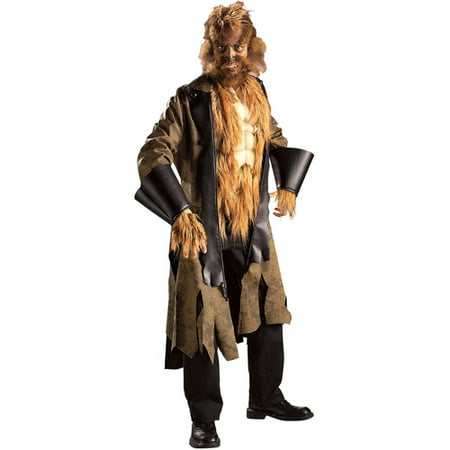 Big Mad Wolf Adult Halloween Costume - Plus Size Big Bad Wolf Costume