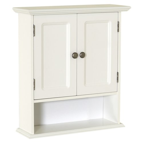"Red Barrel Studio Journey 21.625"" W X 24"" H X 7"" D White Collette Wall Cabinet"
