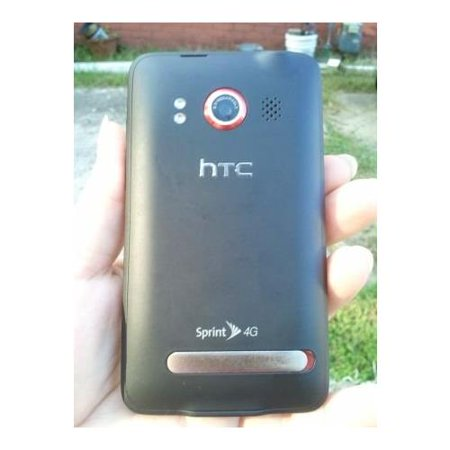 HTC EVO 4G - Black (Sprint) Smartphone manufacture refurbished