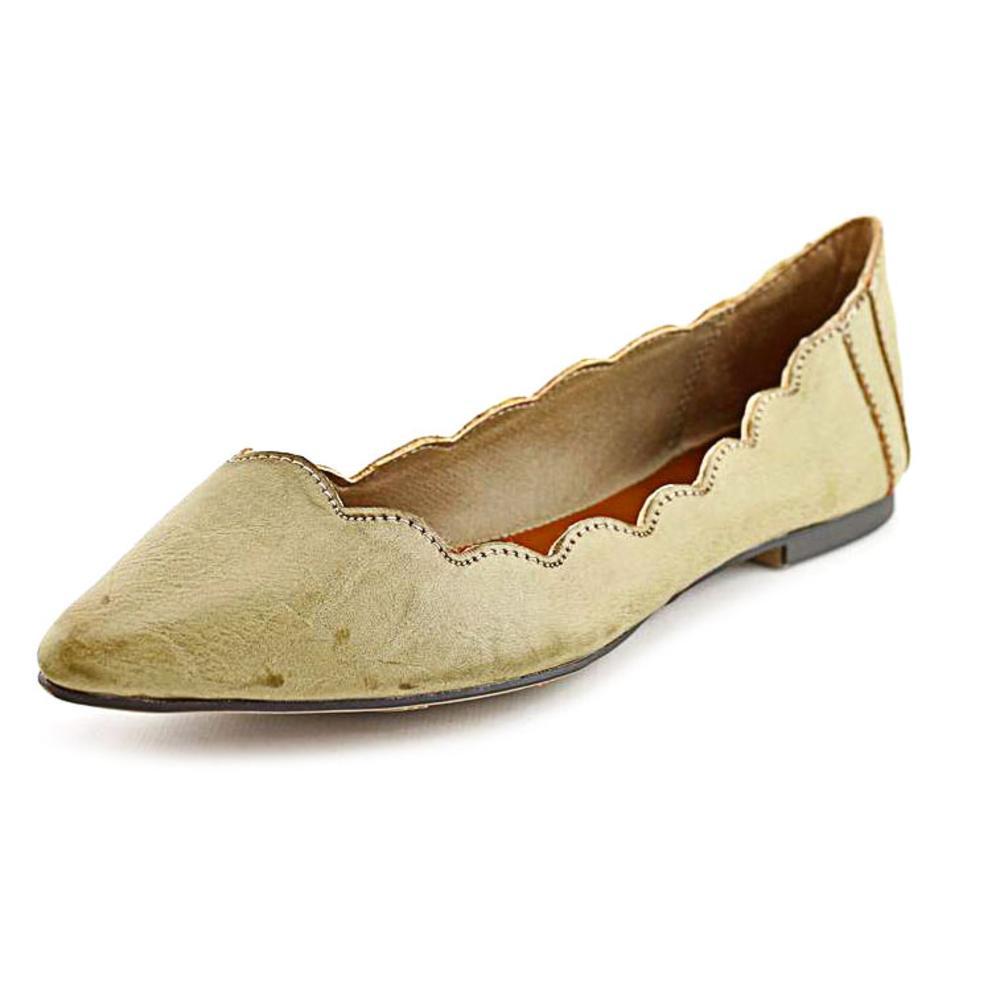 Mia Amari   Pointed Toe Synthetic  Flats