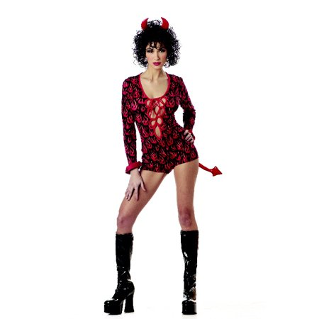 Sassy She Devil Adult Costume - She Devil Costumes