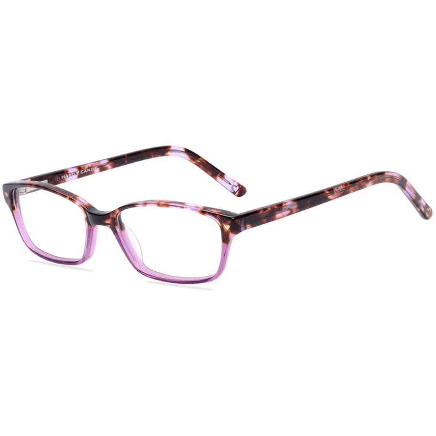 hard candy womens prescription glasses hc07 tortoise purple walmartcom