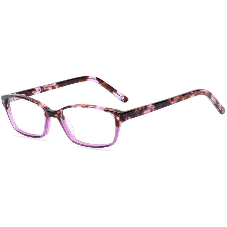 Hard Candy Womens Prescription Glasses, HC07 Tortoise Purple