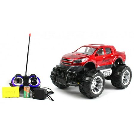 Best Speed Silverado Concept Electric RC Truck 1:14 Monster RTR (Colors May