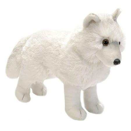 Cuddlekins Arctic Wolf Plush Stuffed Animal by Wild Republic, Kid Gifts, Zoo Animals,12 Inches