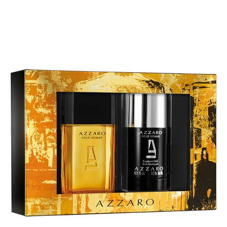 Azzaro Pour Homme gift set, 1.7 Oz edt spray, 2.2 deodorant stick