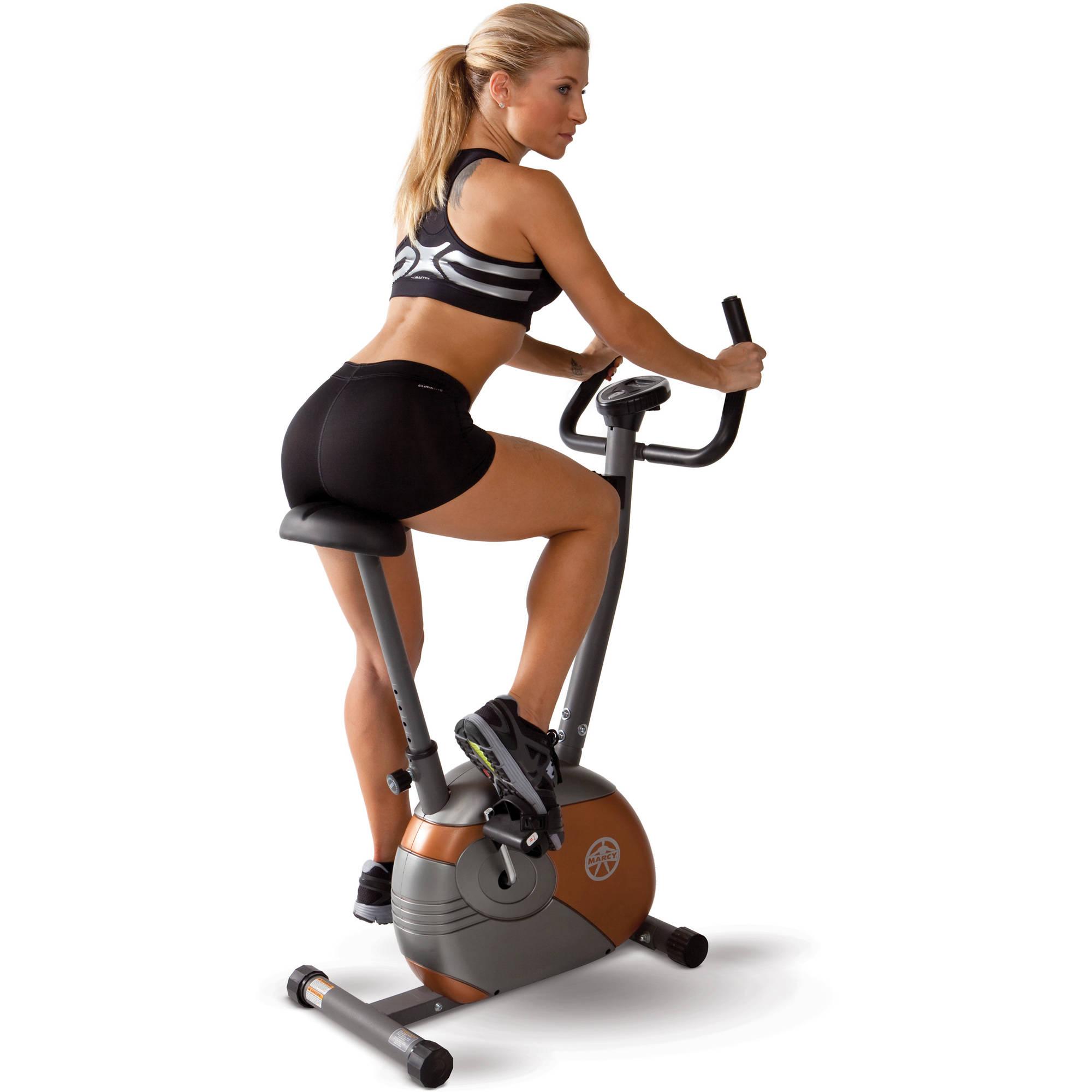 Marcy Upright Exercise Bike: ME-708