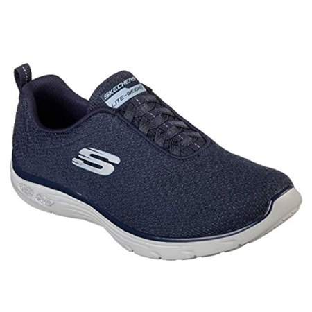 Skechers Relaxed Fit Empire Burn Bright Womens Slip On Sneakers -