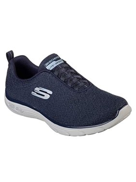 finest selection 684e9 19f7c Product Image Skechers Relaxed Fit Empire Burn Bright Womens Slip On  Sneakers Navy