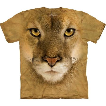 Lion Face - Mountain Lion Face T-Shirt