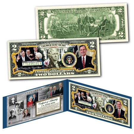 GEORGE H.W. BUSH 1924-2018 Commemorative Official 41st President U.S. $2