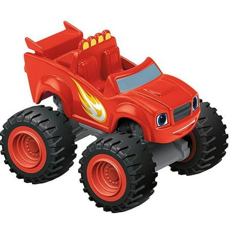 Blaze & the Monster Machines Nickelodeon Blaze Plastic Car - Blaze Card