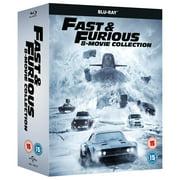 Fast & Furious 8-Film Collection (1-8 Boxset) BD [Blu-ray] [2017] [Region Free]