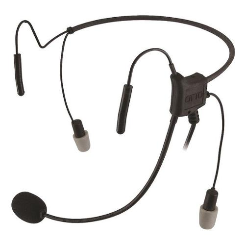 OTTO V4-HN2KB3B-S Headset,Inline Push-to-Talk