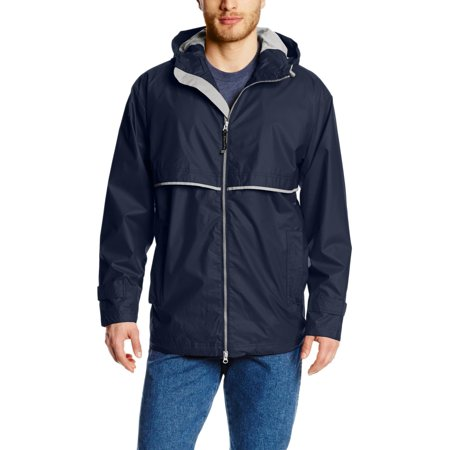 Charles River Apparel Men's New Englander Rain Jacket