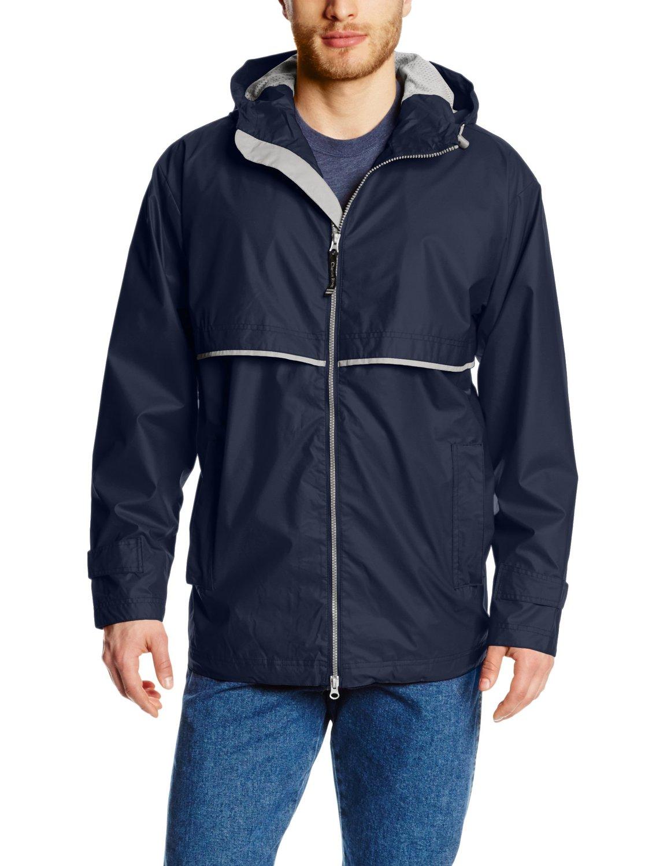Charles River Apparel Men's New Englander Rain Jacket