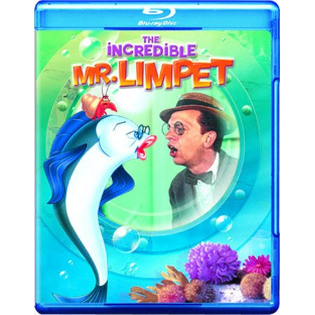 The Incredible Mr. Limpet (Blu-ray) - The League Mr Mcgibblets