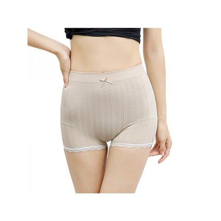 Mini Skirt Skort Shorts - Women Lady Lace Skirt Safety Under Shorts Pant Solid Seamless Underwear Short