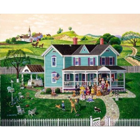 Family Reunion Decorations (Family Reunion Poster Print by Bob Pettes (24 x)