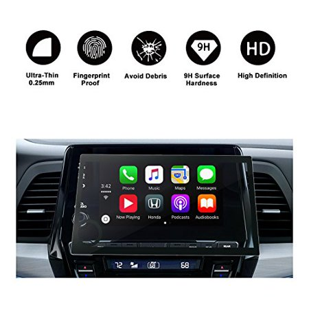 2018 2019 Odyssey 8 in Display Audio Touch Screen Car Navigation Screen Protector, RUIYA HD Clear Tempered Glass Car in-Dash Screen Protective (Best In Dash Navigation 2019)