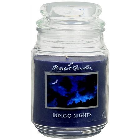 Patriot Candles Jar Candle Indigo Nights 1.0 ea(pack of 1)