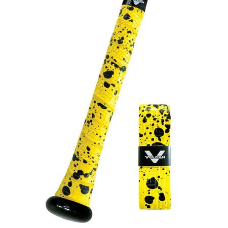 Vulcan Bat Grips 1.00mm / Yellow Splatter