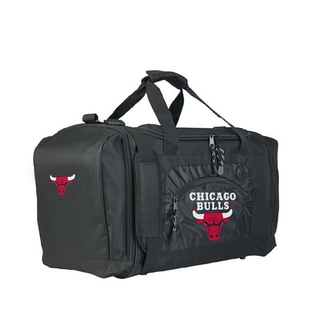 "Bull Riding Gear Bags (NBA Chicago Bulls ""Roadblock"" 20""L x 11.5""W x 13""H Duffel)"