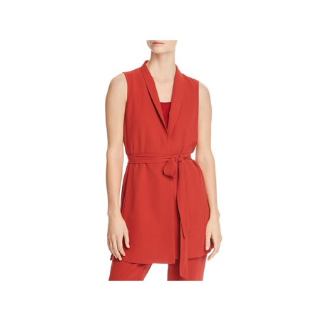 Eileen Fisher Silk Tunic - Eileen Fisher Womens Petites Silk Sleevless Wrap Top