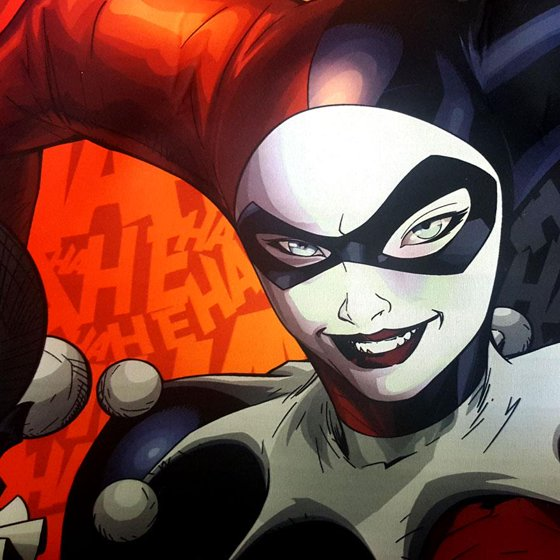 New Design DC Comic Harley Quinn Car Seat Covers Floor Mats And Steering Wheel Cover Set