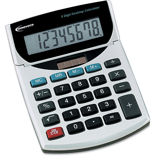 Innovera 15925 Handheld Calculator, Eight-Digit, LCD