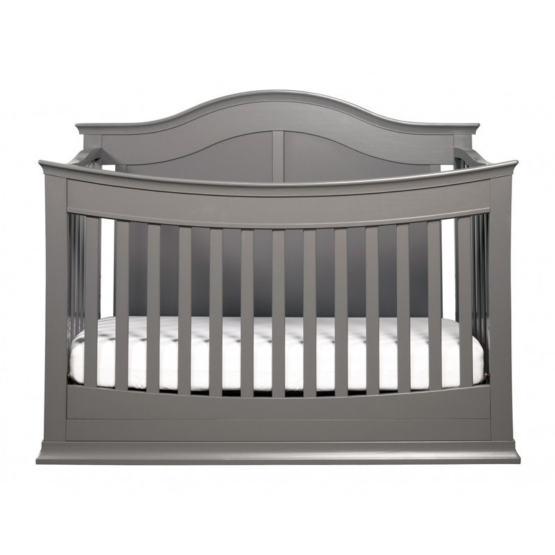 DaVinci Meadow 4-in-1 Convertible Crib, Slate