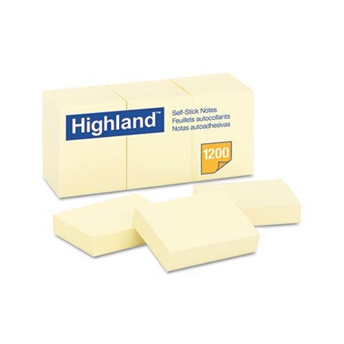 Highland Self-Stick Pads MMM6539YW