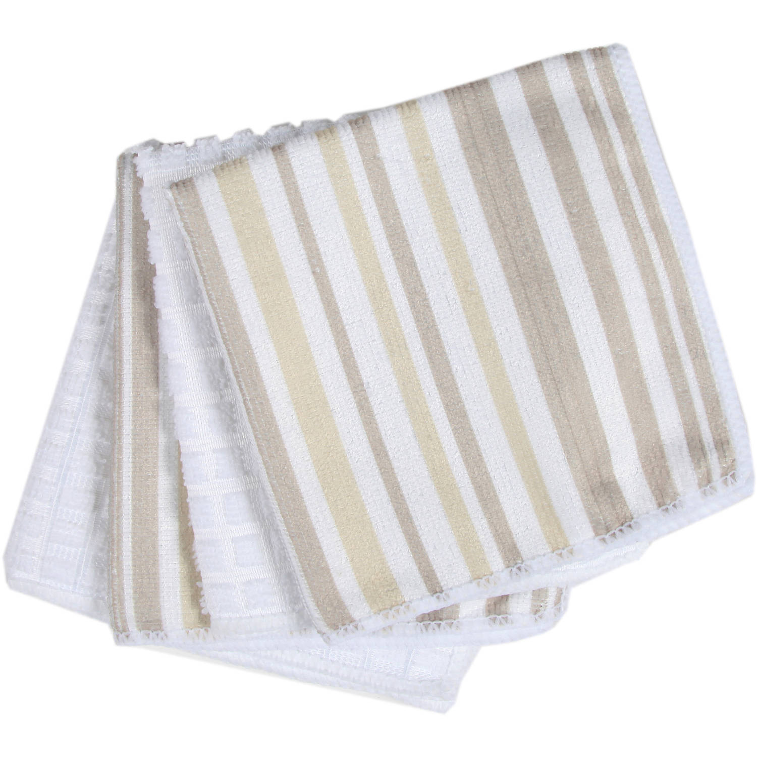 "Hotel 4-Pack 12"" x 12"" Microfibre Dish Cloths"
