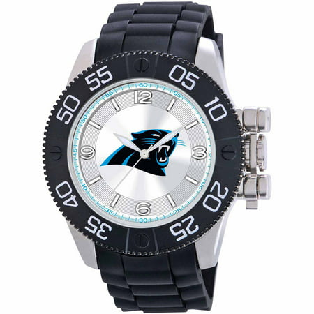 Game Time NFL Men's Carolina Panthers Beast Series Watch
