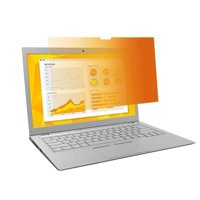 """3M 14"""" Privacy Filter Laptop with Comply Attachment System, Gold"""