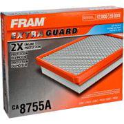 (2 pack) FRAM Extra Guard Air Filter, CA8755A