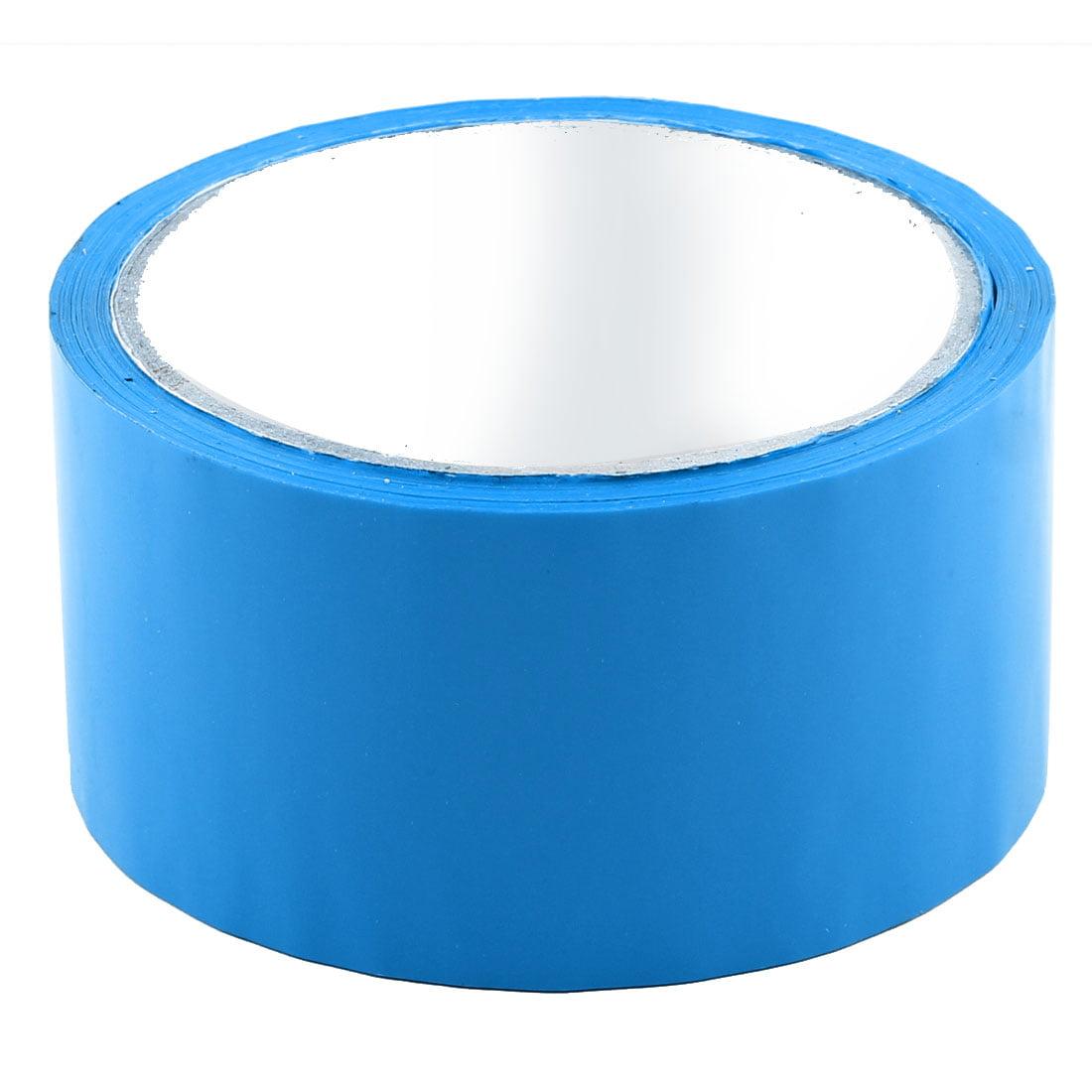 Shipping PVC Box Parcels Sealing Adhesive Tape Blue 1.9'' x 32.8 Yards(295.3 Ft)