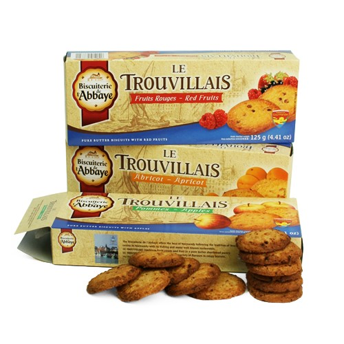 Trouvillais by Biscuiterie de l'Abbaye - Lemon and Almonds