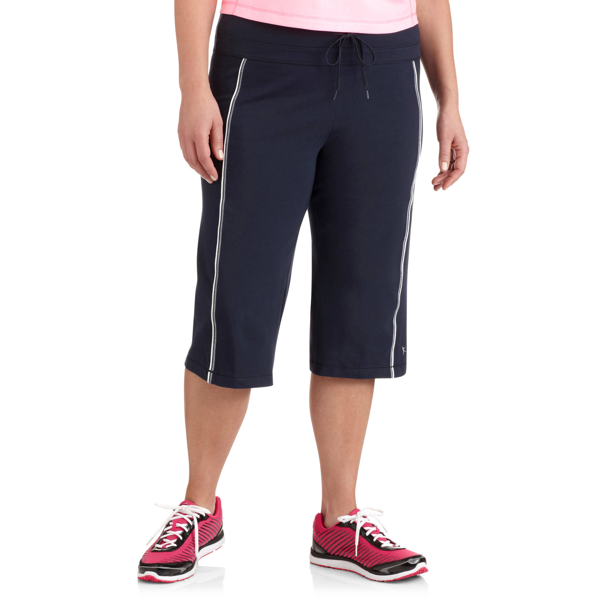 Danskin Now Womens Plus Size Dri More Core Workout Bermuda