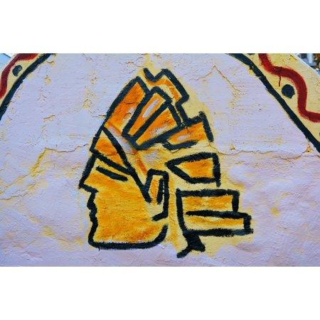 aztec murals coloring pages - photo#43